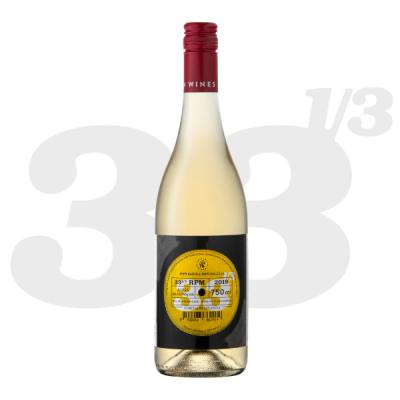 33 1/3 RPM White blend 2019